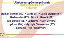Le 9 mai 2021 l'Europe se fête en musique !