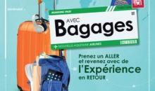Avec Bagages : prenez un Aller et revenez avec l'expérience en retour !