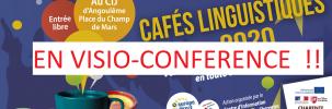 Café linguistique d'avril : la convivialité à distance !
