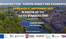 Europe Direct des Charentes inaugure le renouvellement de son label