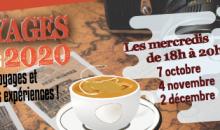 Les cafés voyages de l'automne