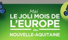 Lancement du Joli mois de l'Europe en Nouvelle Aquitaine