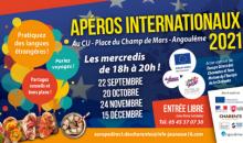 Cette année, découvrez les Apéros Internationaux !