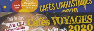 Les cafés de juin : linguistique et voyages
