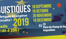 Les cafés linguistiques 2019