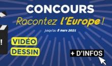 Concours dessin/vidéo « Racontez l'Europe »