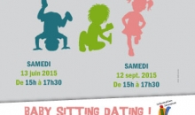 Affiche baby-sitting dating et jobs en animation