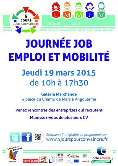 journ u00e9e job emploi et mobilit u00e9