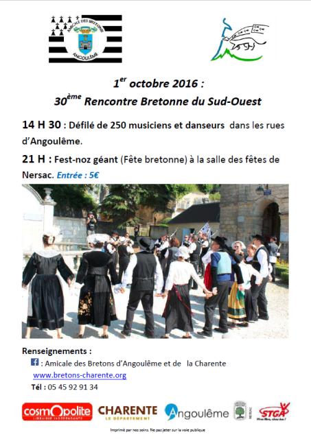 Rencontres bretonnes du sud ouest