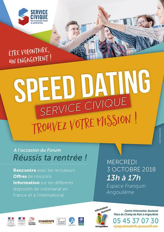 Speed dating angouleme
